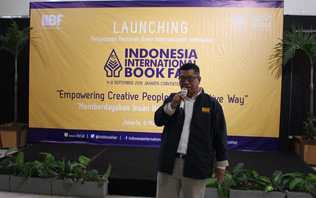 Ikapi Luncurkan Indonesia International Book Fair 2019