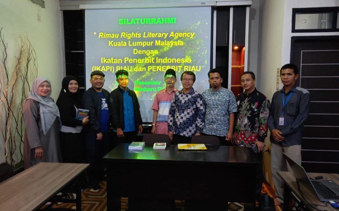 IKAPI Riau Jalin Kerja Sama dengan Literary Agency Malaysia