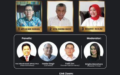 PRESS RELEASE: DEBAT KANDIDAT  KETUA UMUM IKAPI PERIODE 2020-2025