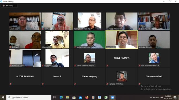 Rapat Koordinasi Ikapi Daerah Sumatera
